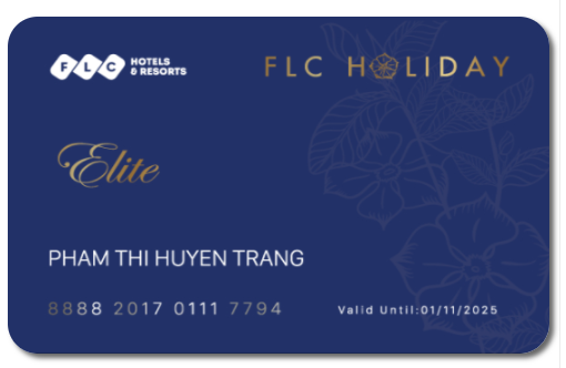 FLC Holidays cung cấp thẻ kỳ nghỉ point-based