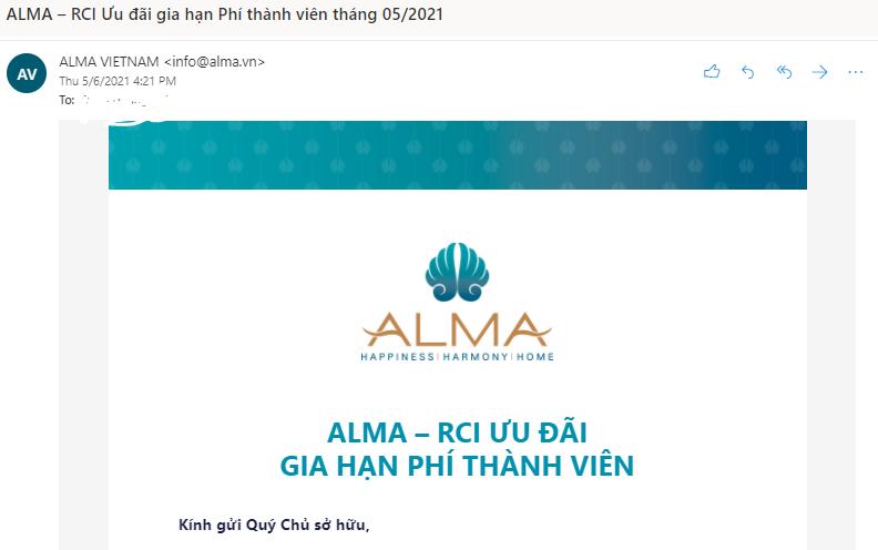 Email là kênh cập nhật thông tin quan trọng nhất cho khách đã SHKN