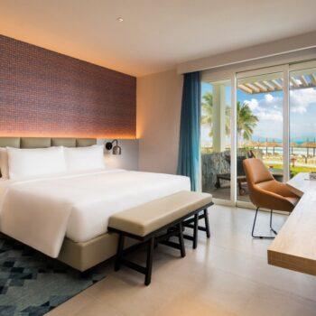 Không gian nghỉ dưỡng tại một biệt thự thuộc ALMA resort.